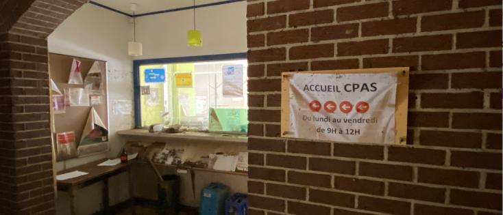 ocmw-kantoor getroffen door overstromingen
